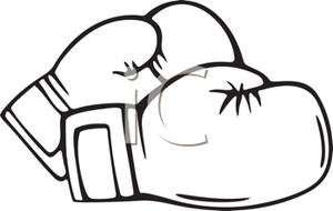 A pair of gloves. Cancer clipart boxing glove