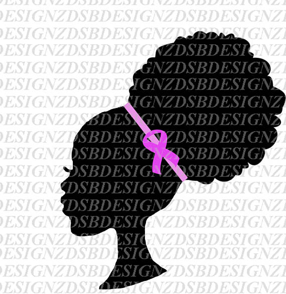 American breast cancer clip. African clipart ethnic