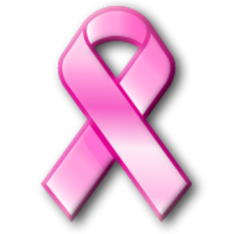 Breast awareness ribbon clip. Cancer clipart cancer disease