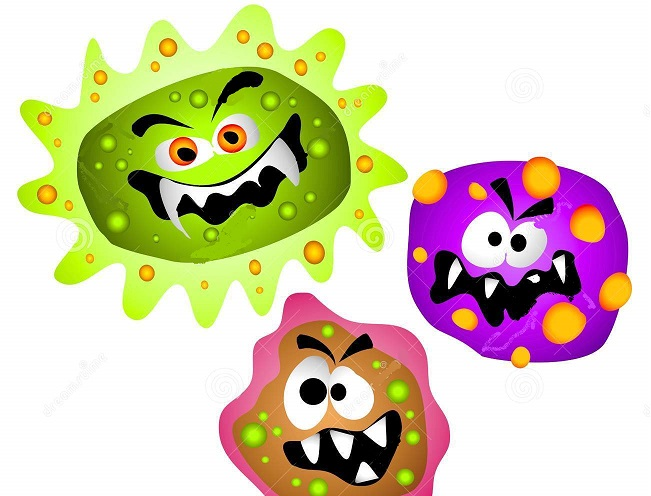 collection of cells. Cancer clipart cartoon