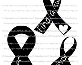 Cancer clipart causes cancer. Breast svg etsy awareness