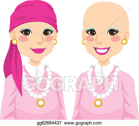Vector stock senior woman. Cancer clipart chemotherapy