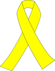 Ribbon for clip art. Cancer clipart child cancer