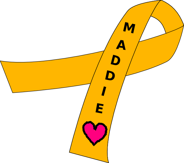 Ribbon For Childhood Cancer Clip Art at Clker