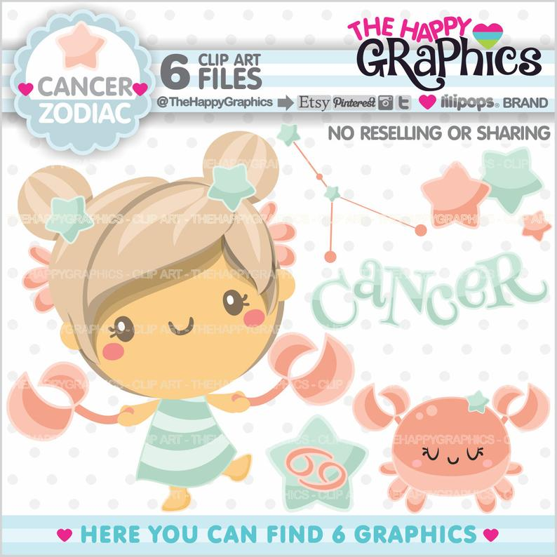 Graphics commercial use zodiac. Cancer clipart clip art