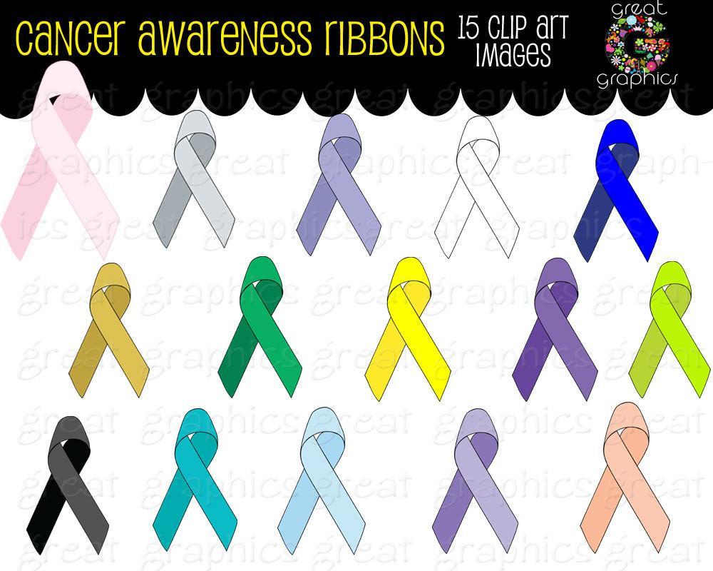 Cancer clipart clip art. Ribbon breast awareness digital