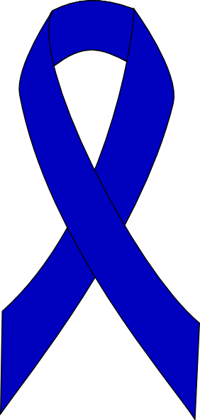 Colon Cancer Ribbon Clipart