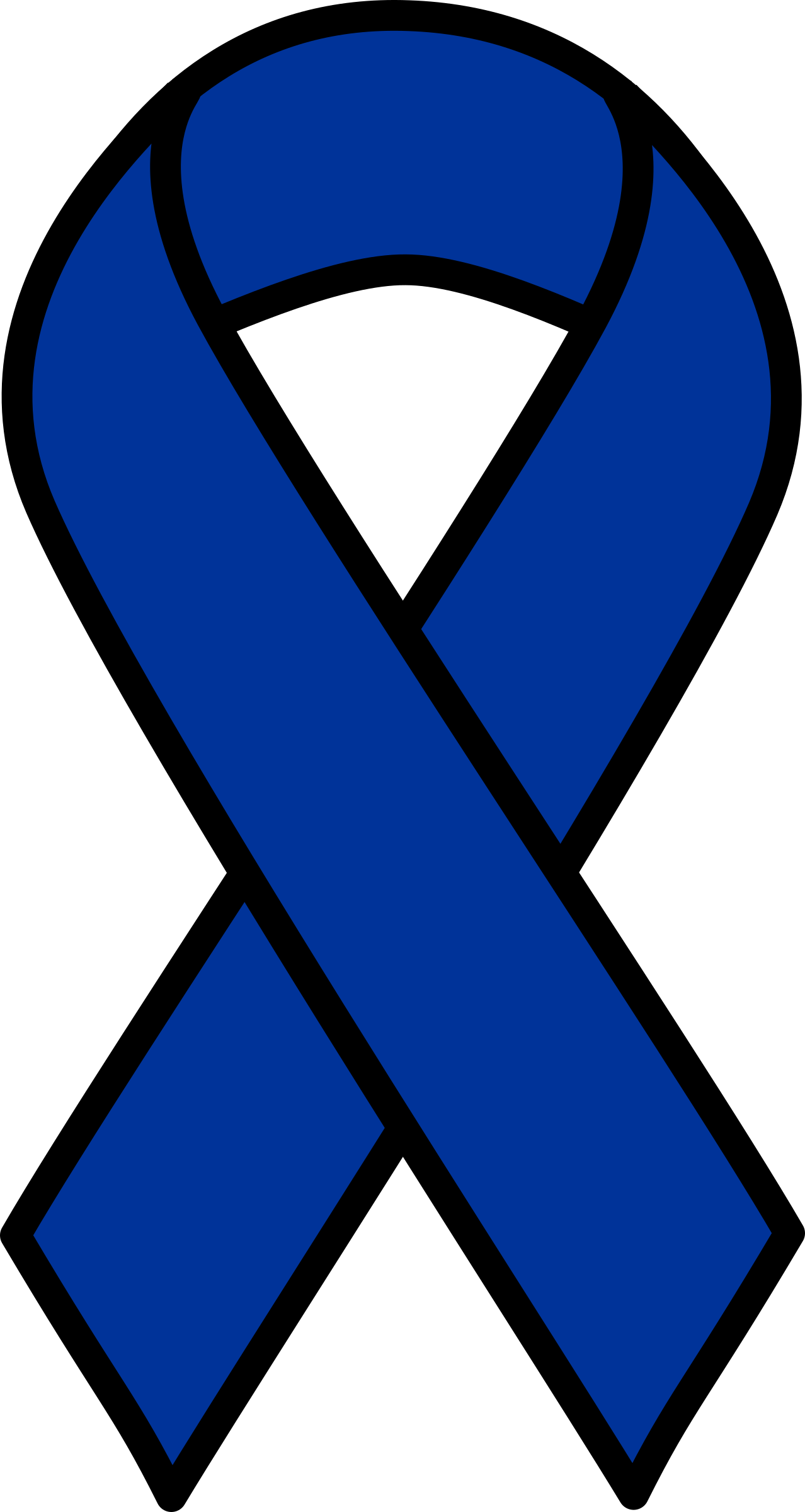 Drink clipart drinking colon. Blue cancer ribbon big