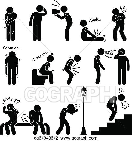 Cancer clipart common disease. Vector stock illness sickness
