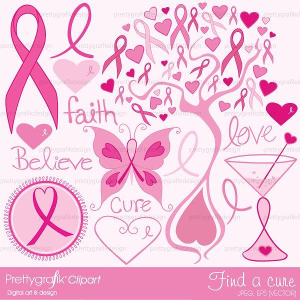 Cancer clipart cure cancer.  best breast awarness