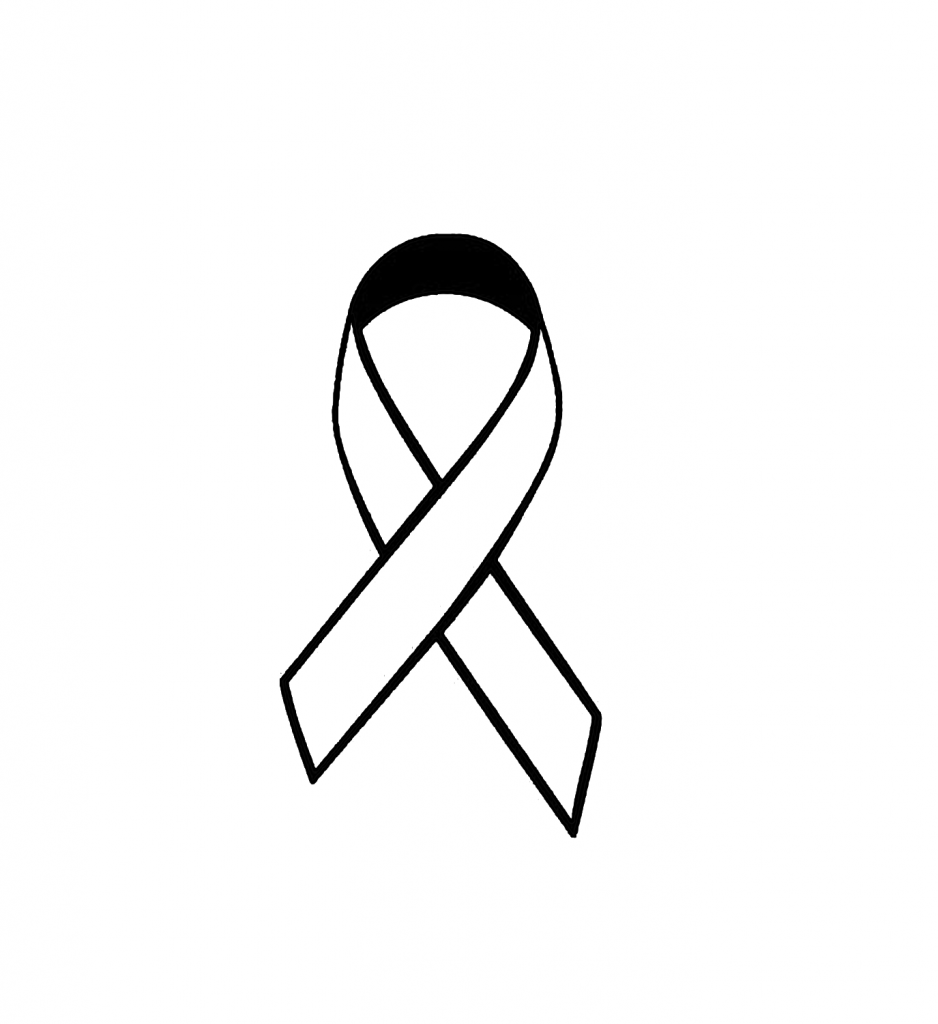 Free ribbon outline download. Cancer clipart drawing