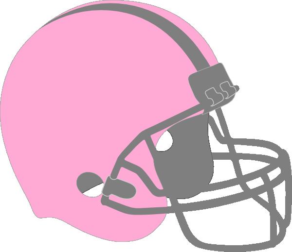 Cancer clipart football. Pink helmet clip art