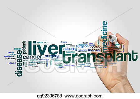 Cancer clipart liver transplant. Drawing word cloud gg