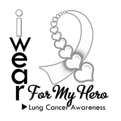 Ribbon clip art wear. Cough clipart lung cancer