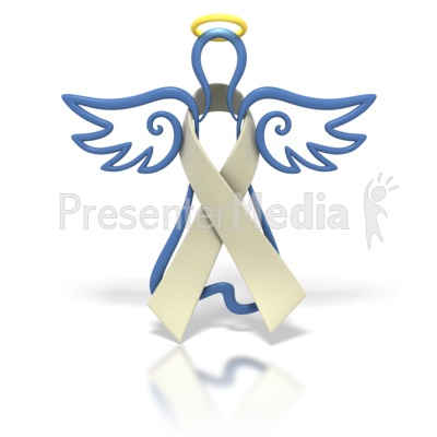 Ribbon clip art angel. Cancer clipart lung cancer