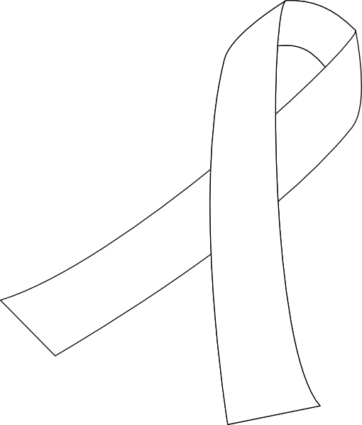 Ribbon . Cancer clipart lung cancer