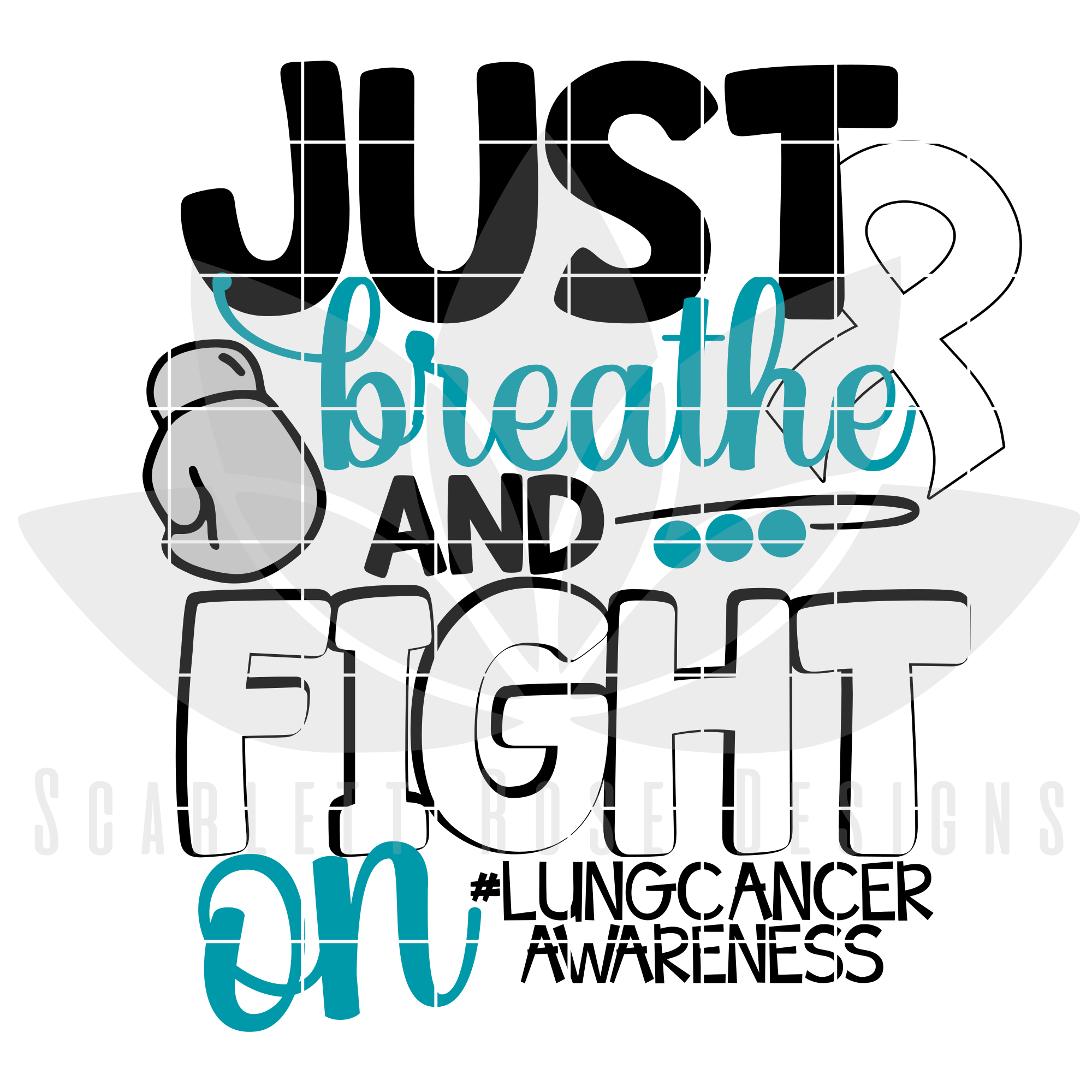 Cancer clipart oncology. Lung awareness hospi noiseworks