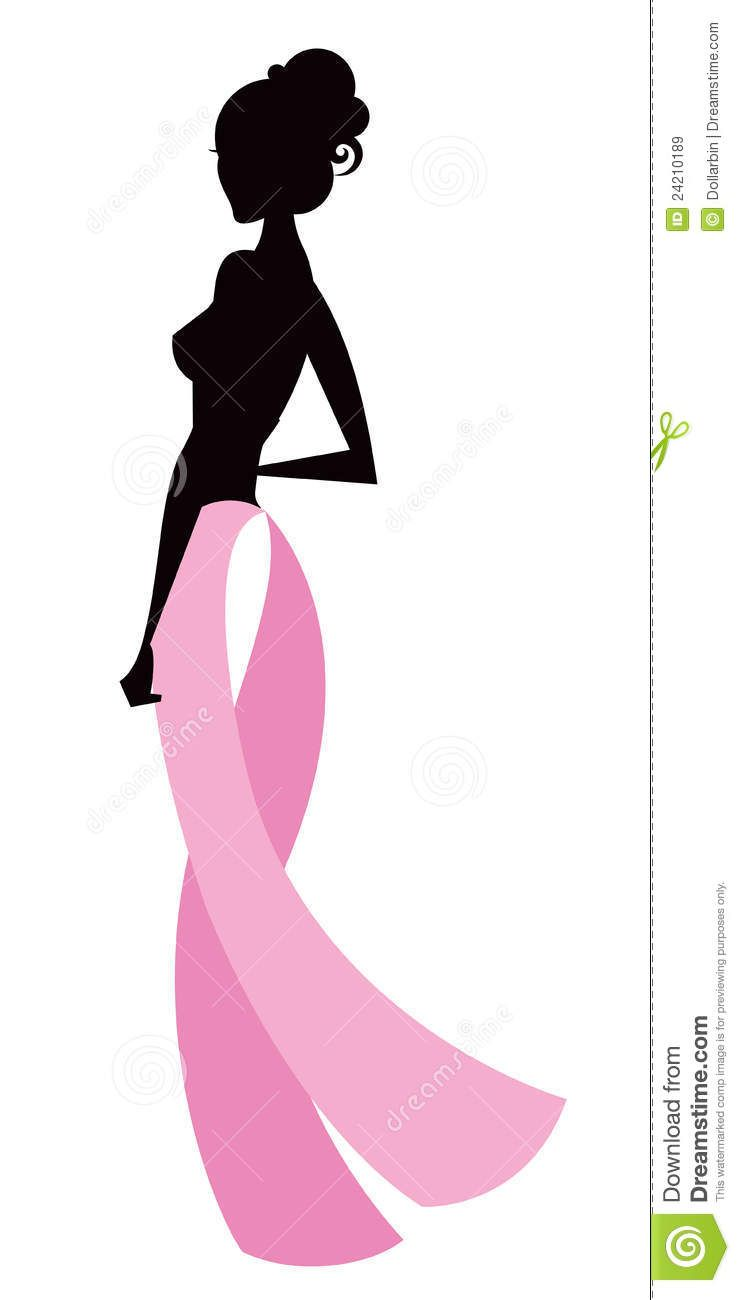 Breast awareness clip art. Cancer clipart pink ribbon