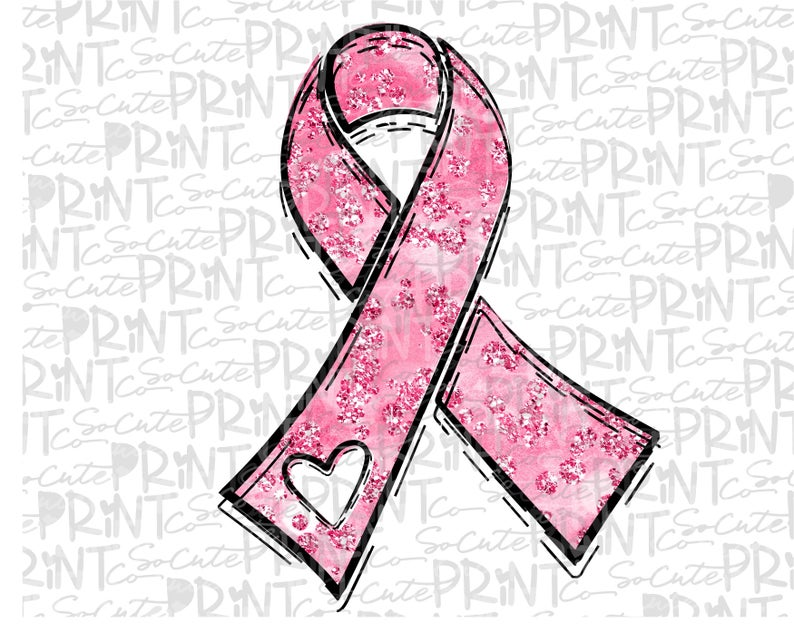 Awareness breast png file. Cancer clipart pink ribbon