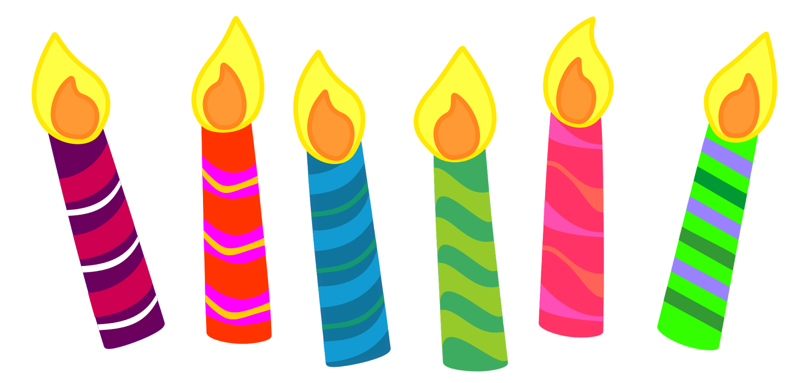 Candle clipart. For your projects or