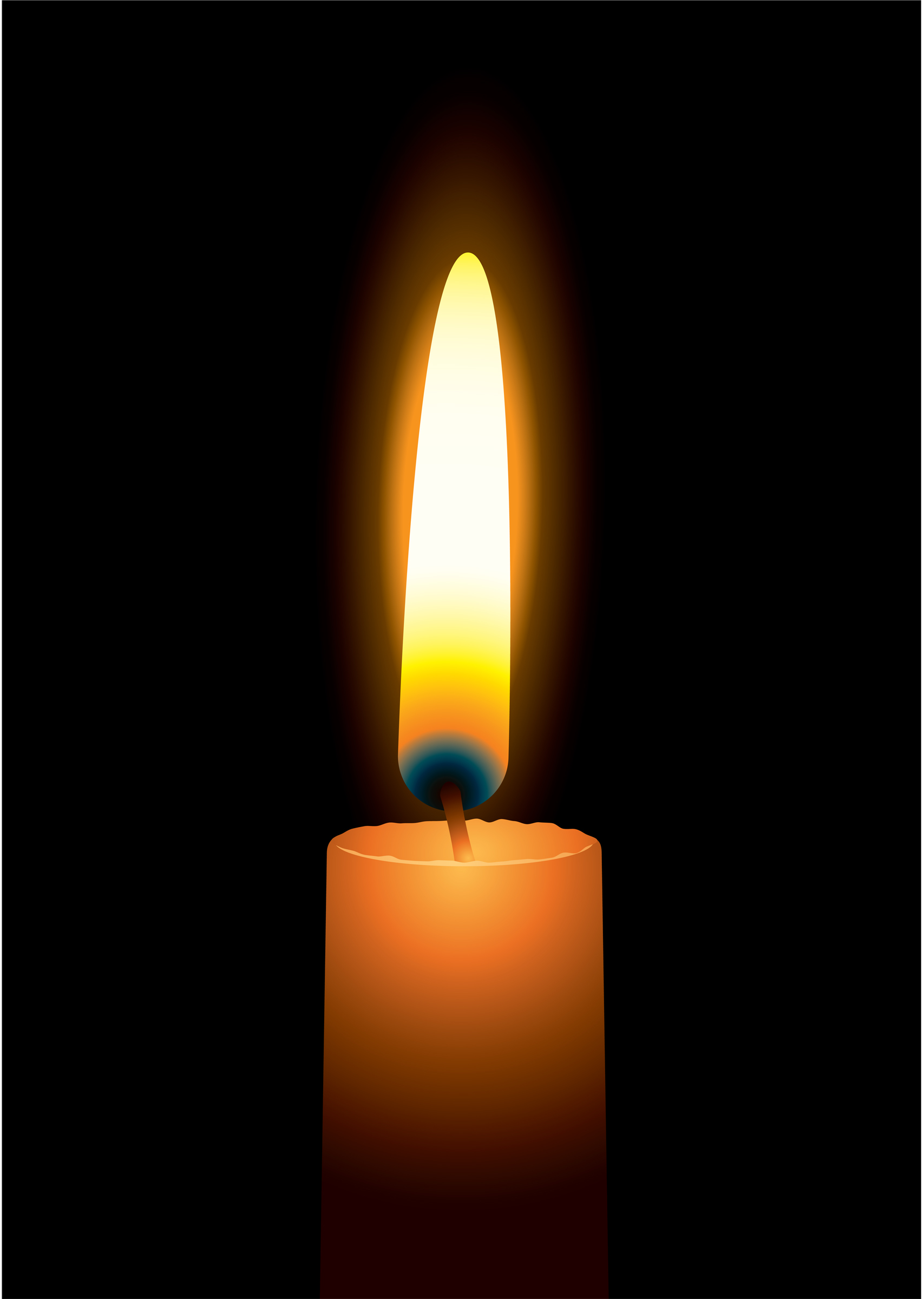 candles clipart candle flame