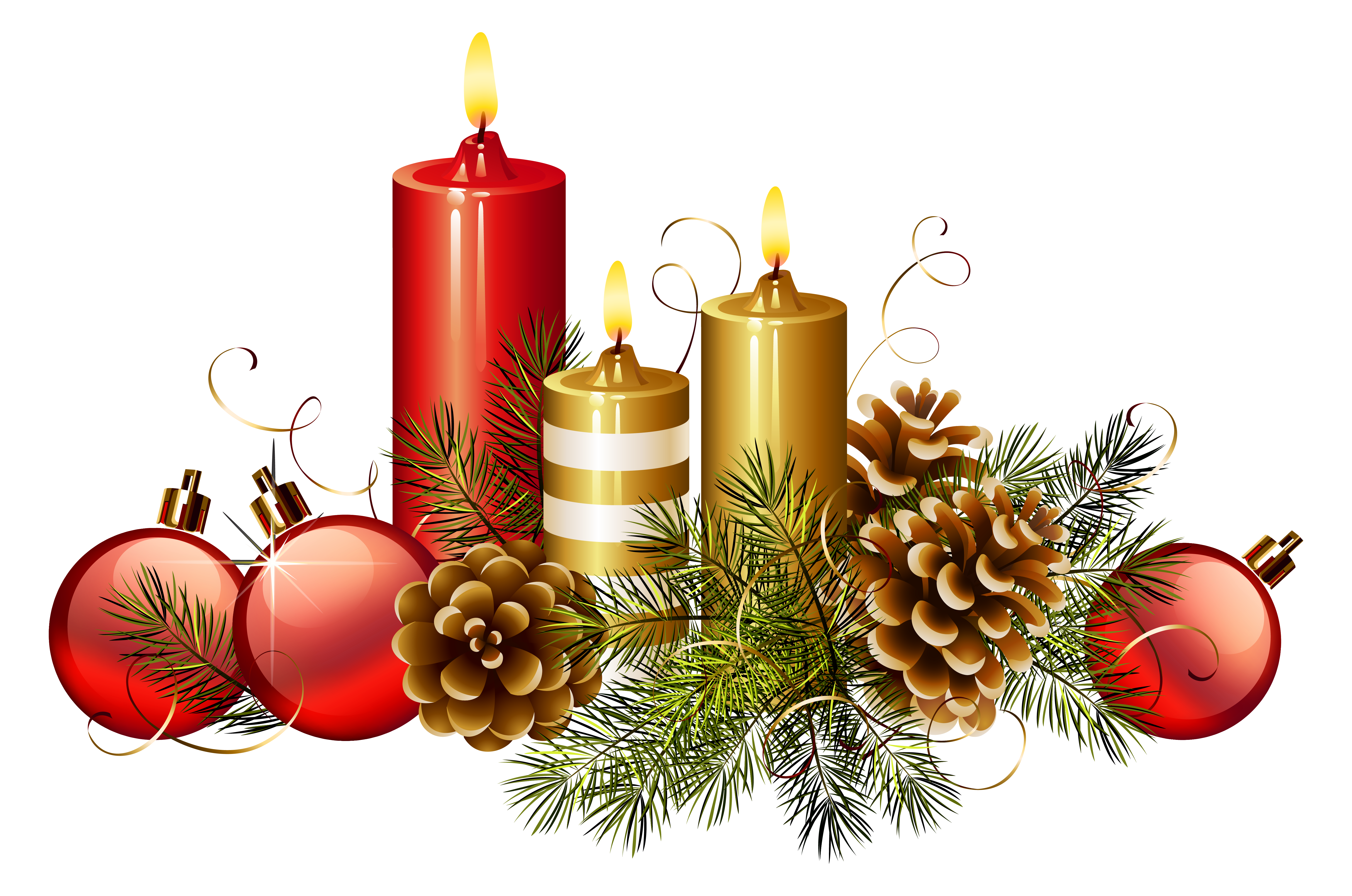 Christmas png image gallery. Candles clipart beautiful