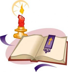 candles clipart bible
