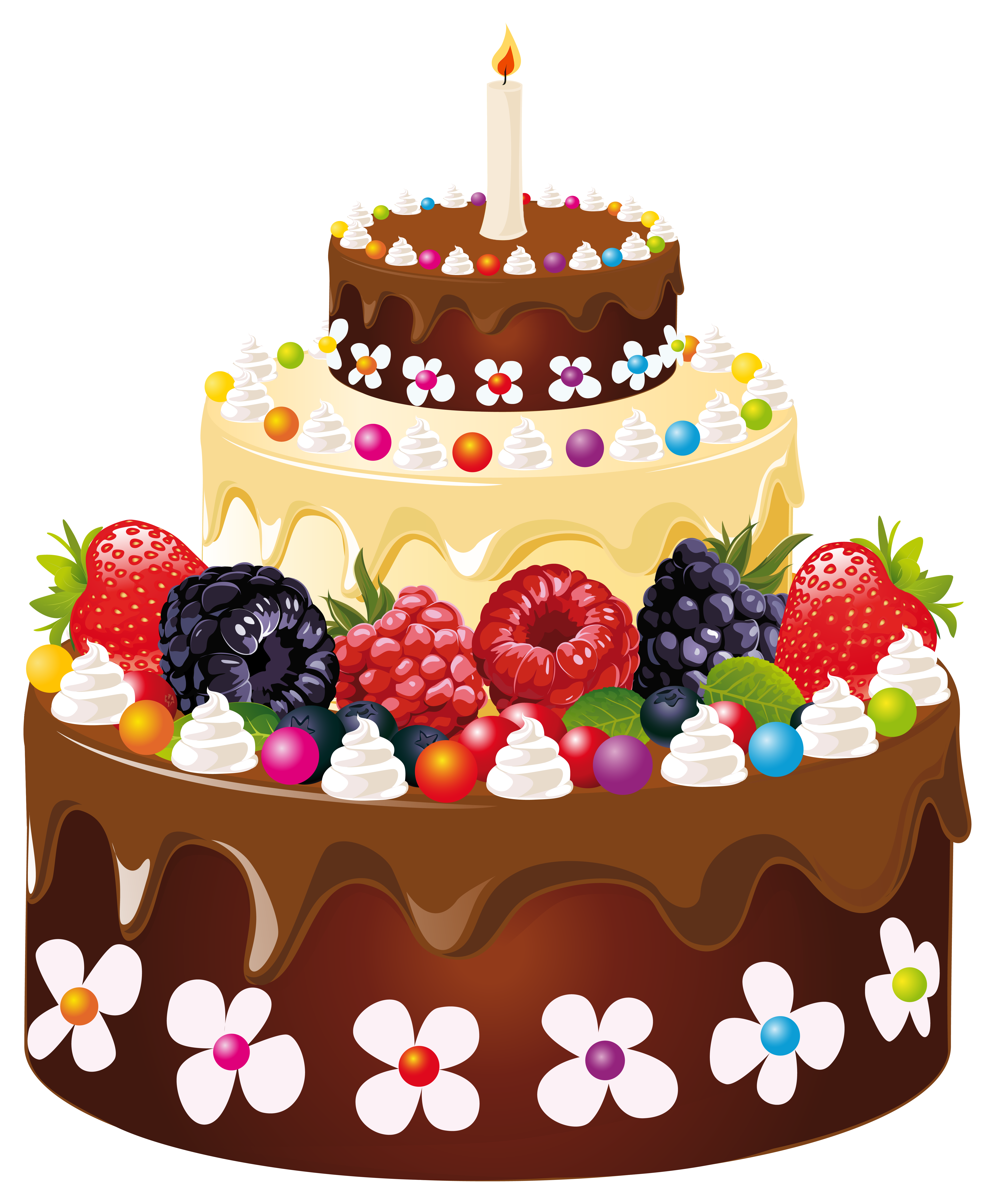 With candle png image. Candles clipart birthday cake