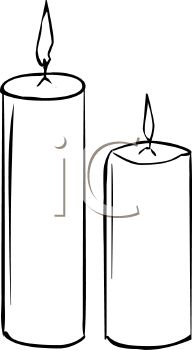 Candle clipart black and white. Birthday panda free microscopeclipartblackandwhite