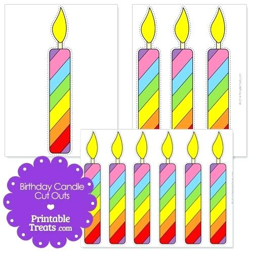 Printable birthday for. Candles clipart bulletin board