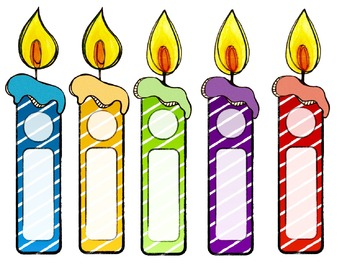 Candles clipart bulletin board. For birthday worksheets teaching