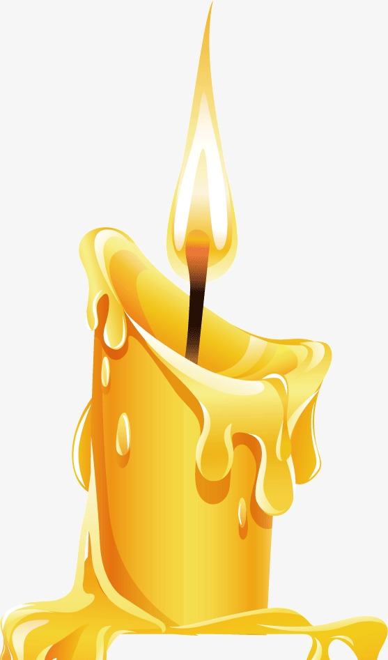 Combustion candle candlelight png. Candles clipart burning