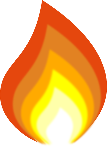 Flames clipart pentecost flame. Candle station