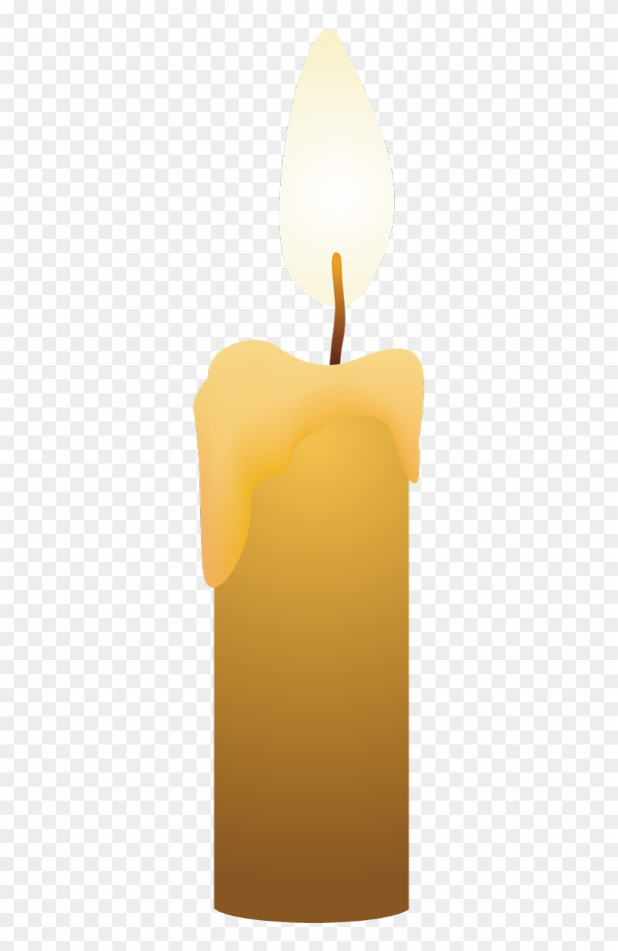 Beige flame png . Candles clipart candle light