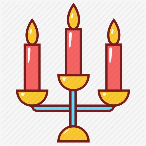 Cartoon png image and. Candle clipart candlestick