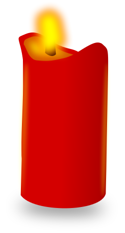 Candles clipart colored. Free candle picture of