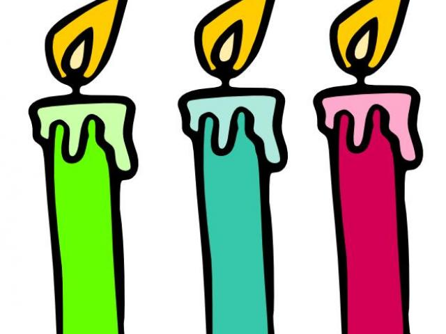 candle clipart cute