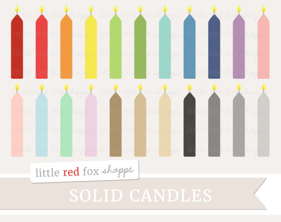 Candles clipart cute. Birthday candle solid cake