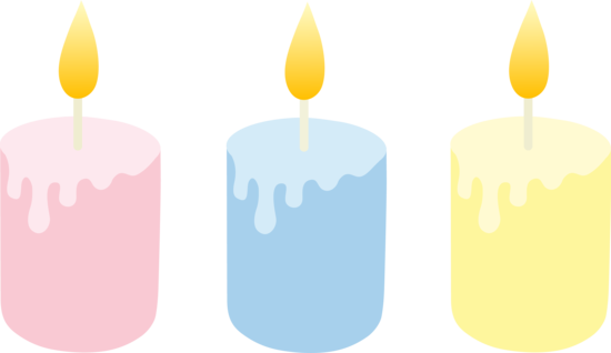Free download best . Candles clipart cute