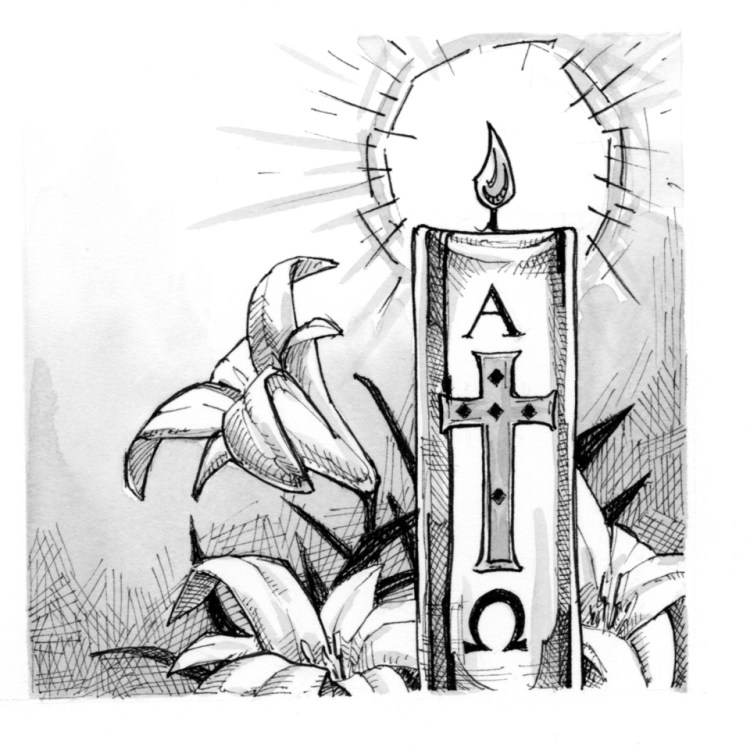 Candles clipart easter vigil. Online candle cliparts free