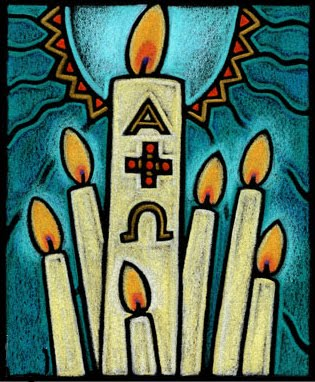 Candles clipart easter vigil. Candle clip art library