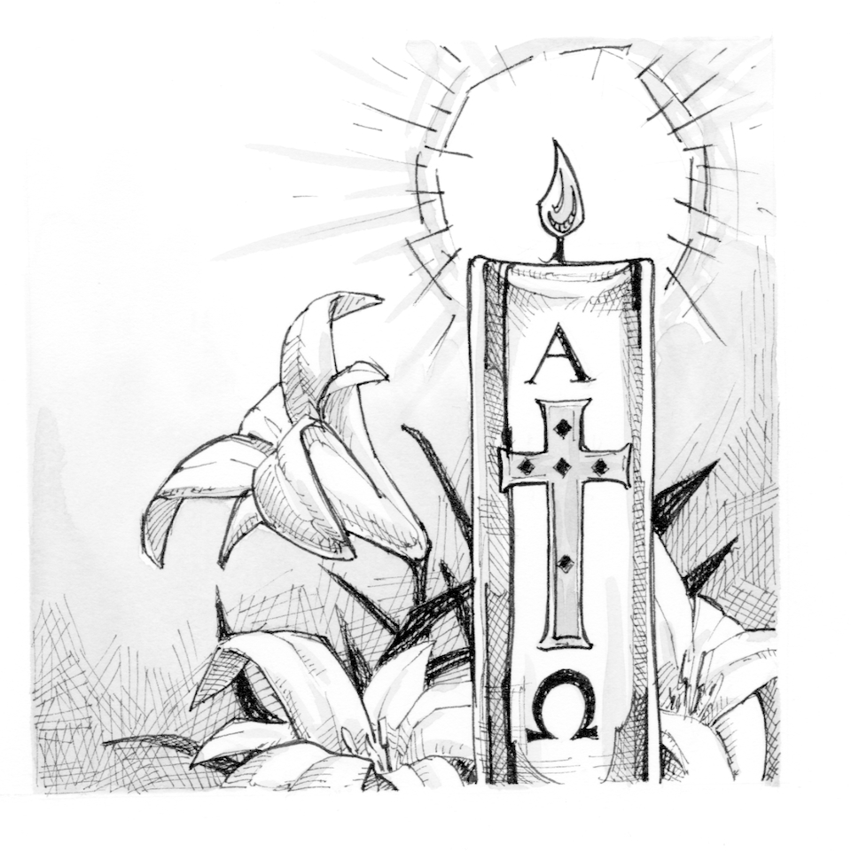 Free candle cliparts download. Candles clipart easter vigil