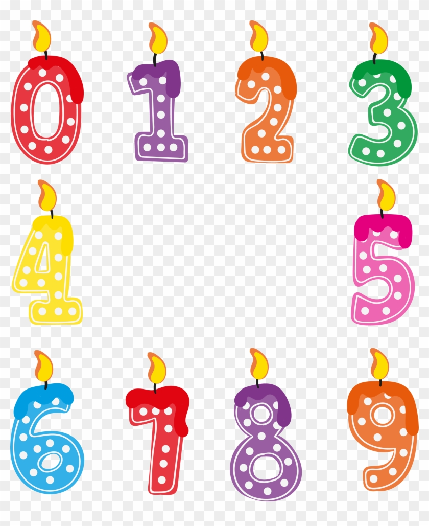 Birthday candle number png. Candles clipart fancy