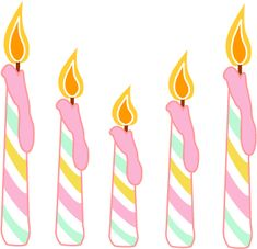 Candle clipart happy birthday. Create a cake box