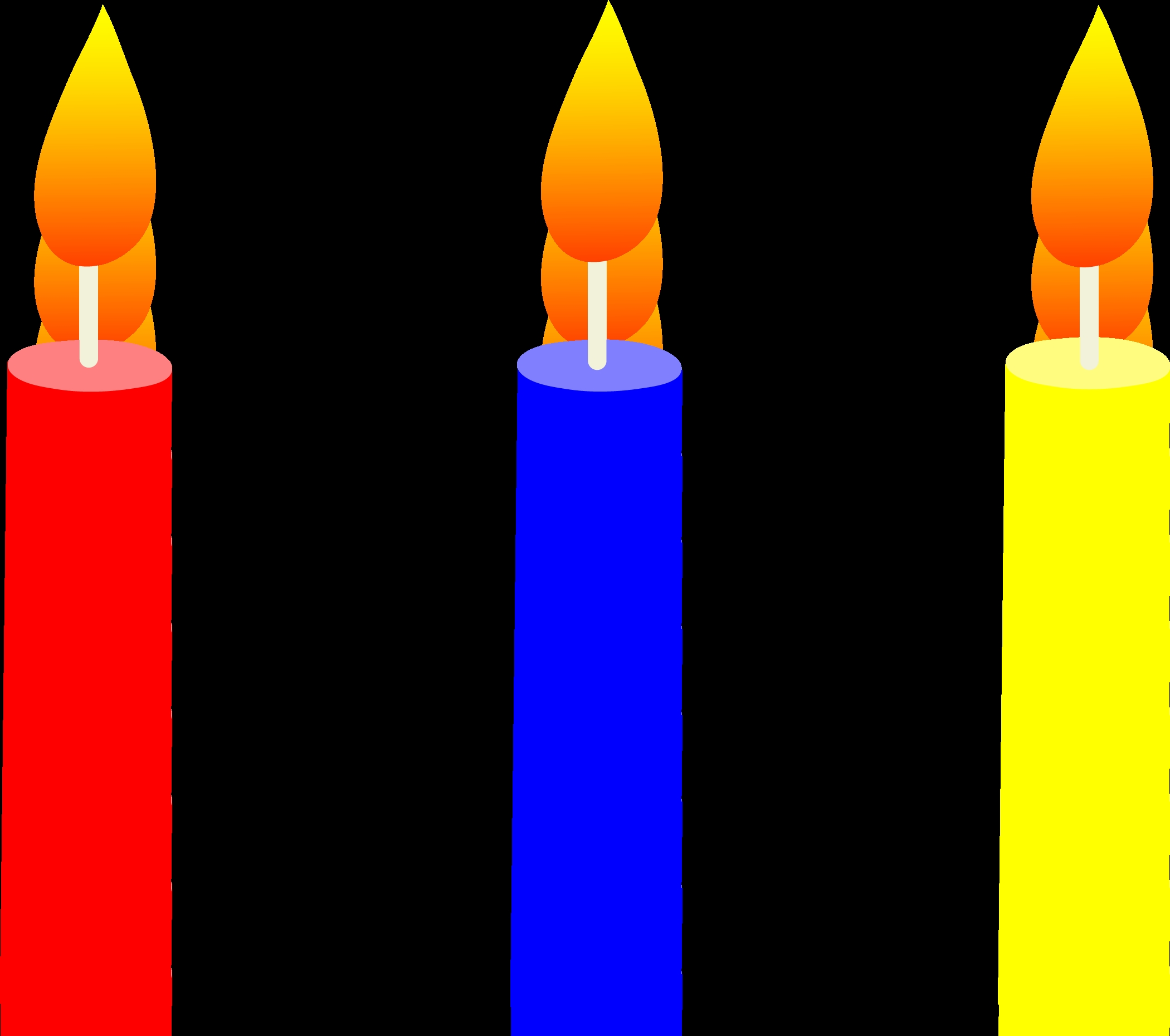 Best of gallery digital. Candles clipart kid