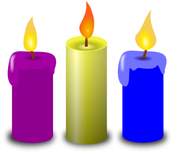 Free green candle page. Candles clipart candlestick
