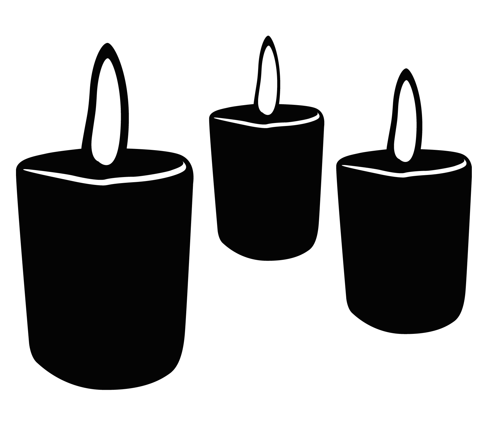 Taper free images image. Candles clipart memorial candle