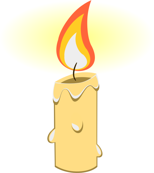 Softball clipart flame. Candle free to use