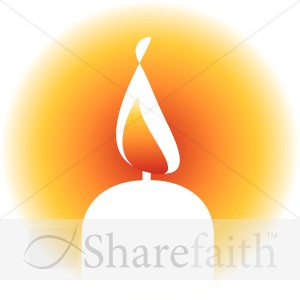 . Candles clipart memorial candle