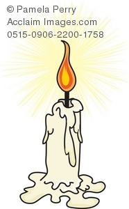 Candle stock photography acclaim. Candles clipart old fashioned